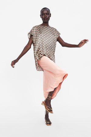Zara Polka dot blouse