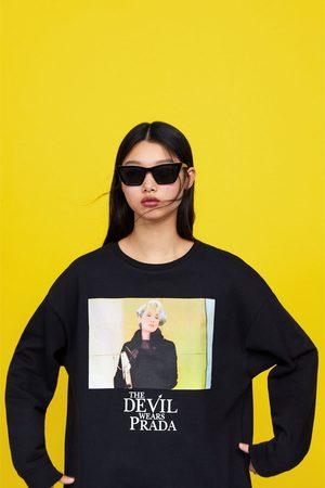 Zara Women Sweatshirts - The devil wears prada © 2019 sweatshirt