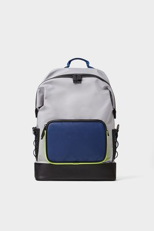 Zara Backpack with coloured detail