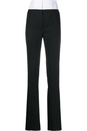 MUGLER High waisted corset trousers