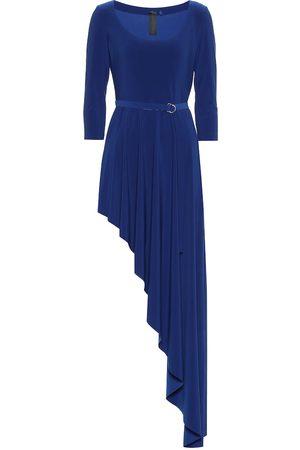 Norma Kamali Reversible stretch-jersey dress