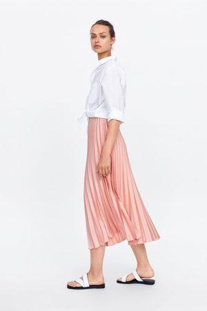 Zara Women Pleated Skirts - Pleated skirt