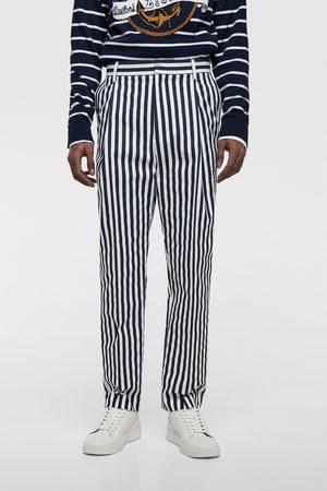 Zara Men Pants - Striped suit trousers