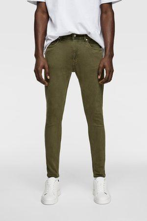 Zara Men Skinny - Coloured super skinny jeans