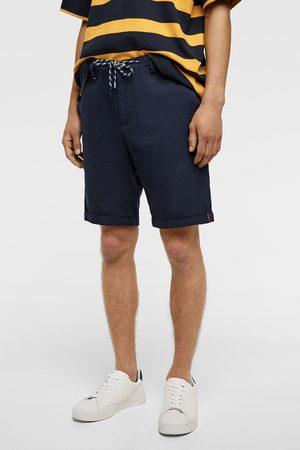 Zara Drawstring bermuda shorts