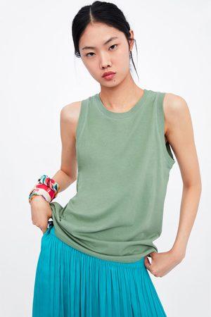 Zara Basic sleeveless top