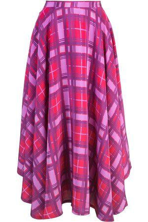 LHD Plaid print skirt