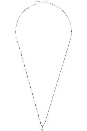 EMANUELE BICOCCHI Skull chain necklace