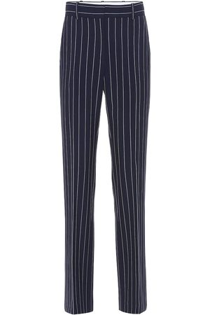 See by Chloé Striped high-rise slim pants