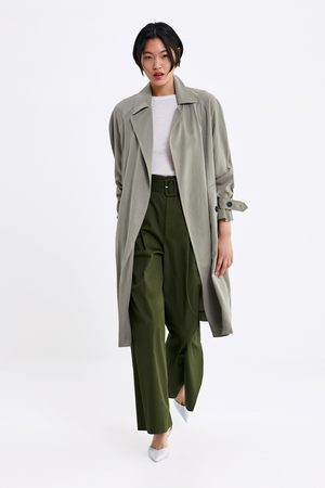 24e1653a61 Flowing trench coat with pockets