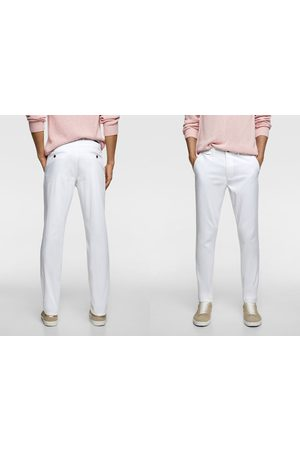 Zara Slim fit chino trousers