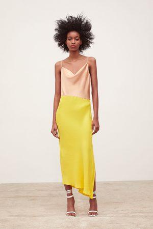 Zara Colour block camisole dress