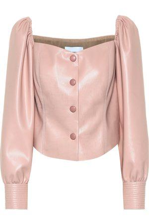 Nanushka Exclusive to Mytheresa – Irene faux leather top