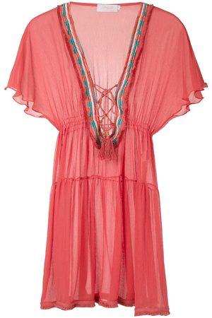 Brigitte Women Tunic Dresses - Silk tunic dress