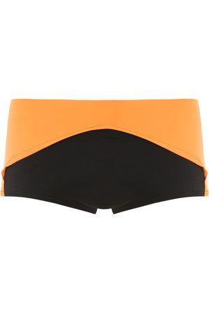 AMIR SLAMA Color block trunks
