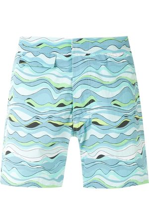 AMIR SLAMA Printed swim short