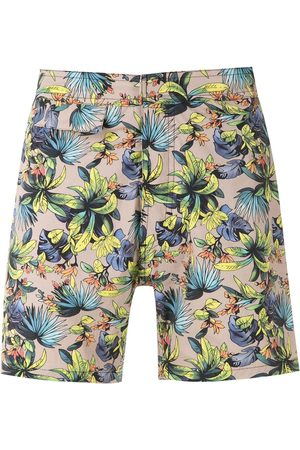 AMIR SLAMA Printed swimming shorts