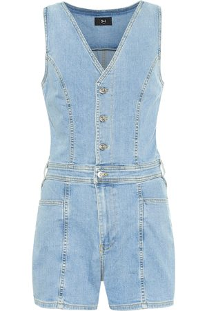 3x1 Albany denim playsuit