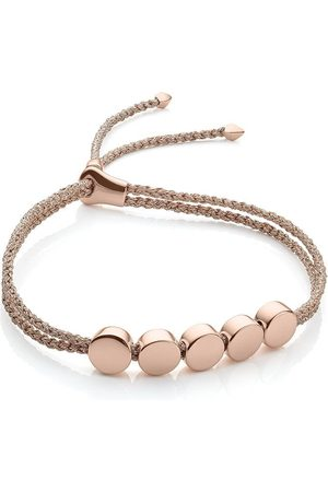 Monica Vinader Linear Bead Rose Metallica bracelet