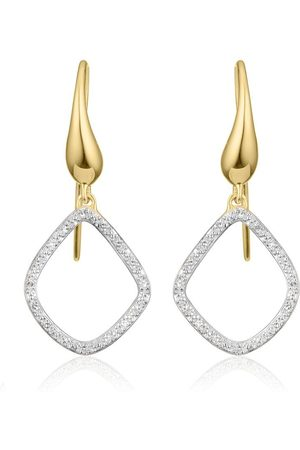 Monica Vinader Riva Kite Diamond earrings