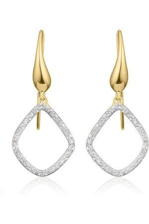Monica Vinader Women Earrings - Riva Kite Diamond earrings