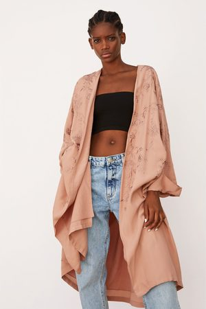 Zara Limited edition embroidered kimono