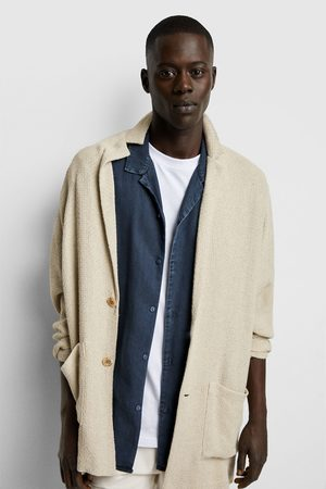 Zara Rustic textured weave blazer