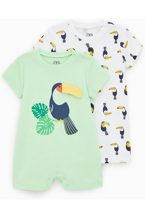 Zara 2-pack of toucan sleepsuits