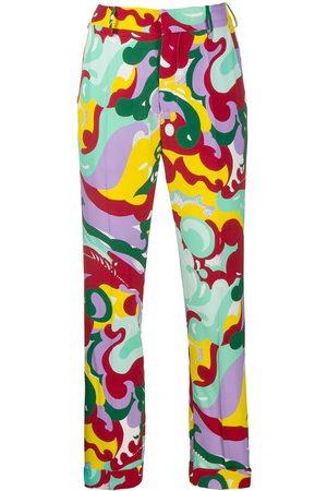 La DoubleJ Printed capri trousers