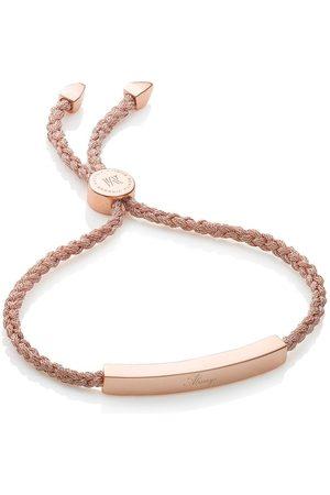 Monica Vinader Linear Rose Gold Metallica bracelet