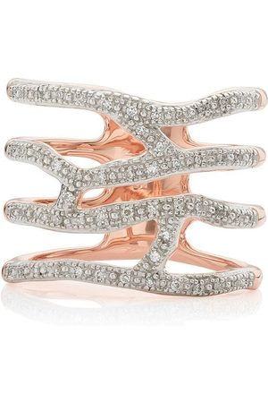 Monica Vinader Riva Waterfall Cocktail Diamond ring