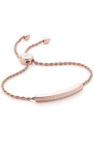 Monica Vinader Linear Chain Diamond bracelet