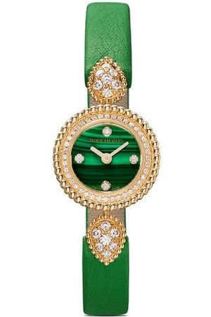 Boucheron 18kt yellow gold Serpent Bohème diamond watch
