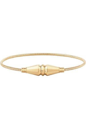 Boucheron 18kt yellow gold Jack de single wrap bracelet