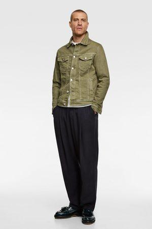Zara Men Denim Jackets - Basic denim jacket