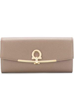 Salvatore Ferragamo Continental flap purse