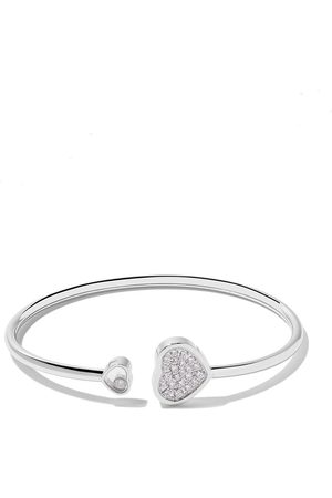 Chopard 18kt Happy Hearts diamond bangle