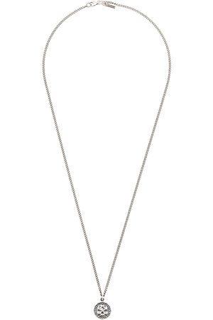 EMANUELE BICOCCHI Skull pendant chain necklace