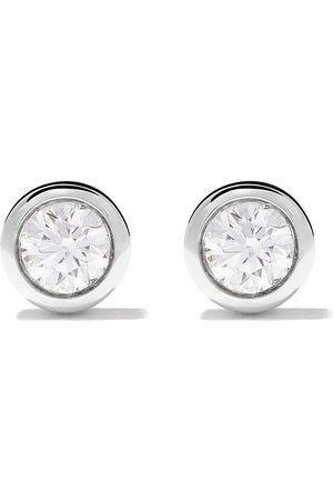De Beers 18kt My First one diamond stud earrings