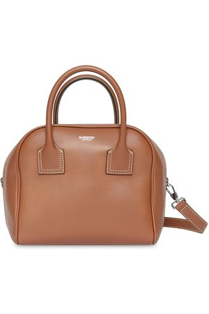Burberry Women Bowling Bags - Small Leather Cube Bag