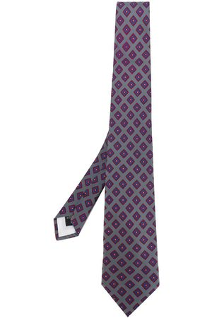 GUY LAROCHE 1980's geometric pattern tie