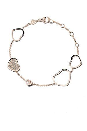 Chopard 18kt Happy Hearts diamond bracelet