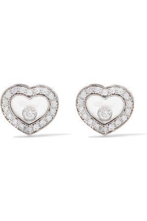 Chopard 18kt Happy Diamonds Icons ear pins
