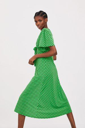 Zara Polka dot dress