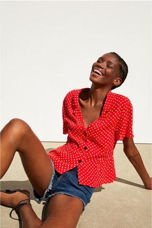 Zara Hearts print shirt
