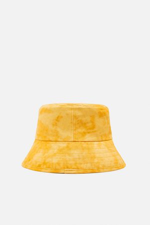 Zara Women Hats - Faded-effect bucket hat