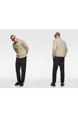 Zara Jacket with contrast pockets