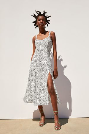 Zara Women Dresses - Polka dot dress