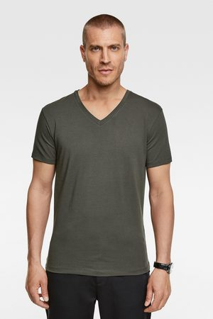 Zara Slim fit v-neck t-shirt