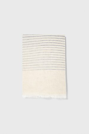Zara Men Scarves - Striped scarf
